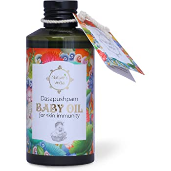 Nature's Veda Dasapushpam Baby Oil (150ml)