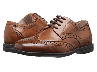 Florsheim Kids Reveal Wingtip Jr. (Toddler/Little Kid/Big Kid) (Cognac) Boys Shoes