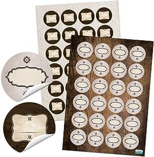 20/rectangulaire?: 5/x 2,7/cm et dossier 40/rustique autocollants patch macaron brodeur /étiquettes /à /épices et ainsi de suite Stickers ou /Étiquettes adh/ésives pour toutes sortes de comme Confiture