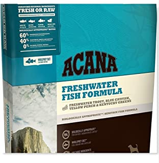 ACANA 4.5 LB Heritage Freshwater Fish, Dry Dog Food, Biologically Appropriate & Grain Free