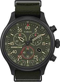 Timex Men's Expedition Field Chronograph 43mm Watch TW2T72800