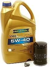 Blau J1A5065-E Motor Oil Change Kit - Compatible with 1999-05 VW Jetta IV w/ 4 Cylinder 2.0L Engine – 5w40