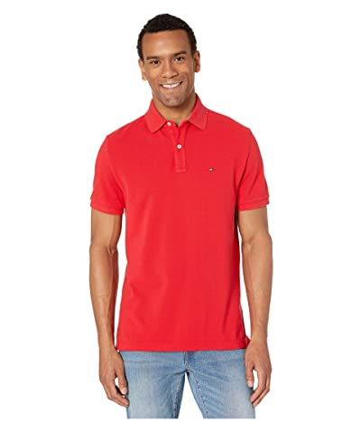 Tommy Hilfiger Ivy Polo Shirt Custom Fit (Apple Red) Men