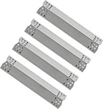 Replace parts Porcelain Steel Heat Plate, Replacement for Grill Master 720-0697, 720-0737, Nexgrill 720-0830H, 720-0783E Gas Grill Models (Stainless Steel -4pcs)