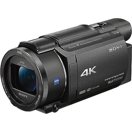 ソニー ビデオカメラ FDR-AX55 4K 64GB 光学20倍 ブラック Handycam FDR-AX55 BC