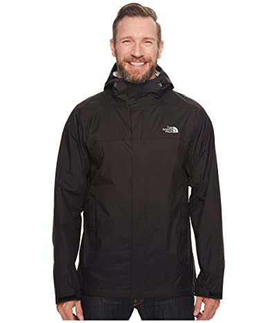 The North Face Venture 2 Jacket Tall (TNF Black/TNF Black) Men
