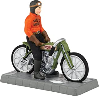 Department 56 Christmas in the City Village Otto Walker H-D Champion Accessory, 2.56 inch