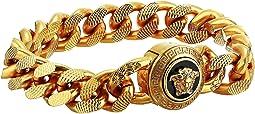 Curb Link Medusa Bracelet