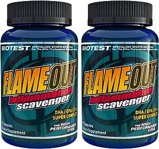 Flameout® Omega-3 Fish Oil, 2 Pack (180 Softgels)
