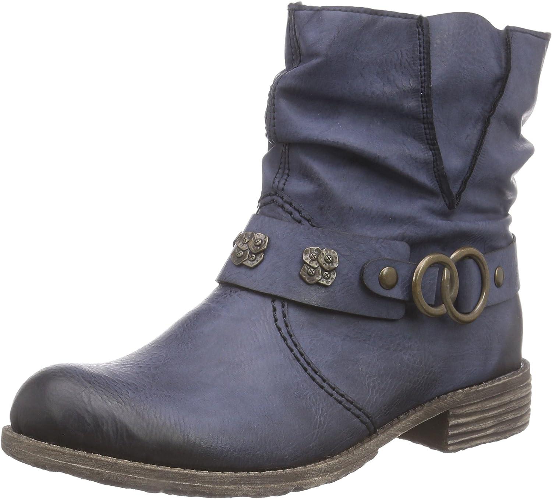 Rieker Damen Schtiefelette blue, 961176-5