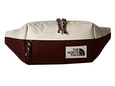 The North Face Lumbar Pack (Vintage White/Sequoia Red) Travel Pouch
