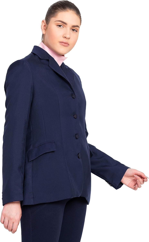 Equestrian Show Coat Tuffrider Children/'s Starter 3 Button Side Vents Navy New