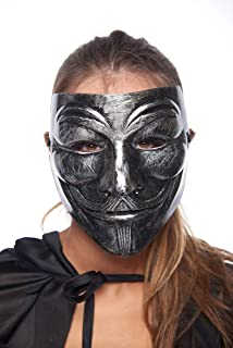 Plastic Party Halloween Masks Jabbawockeez Guy Fawkes Carnival Mardi Gras Ghost Trot Rave Hip-Hop Mask