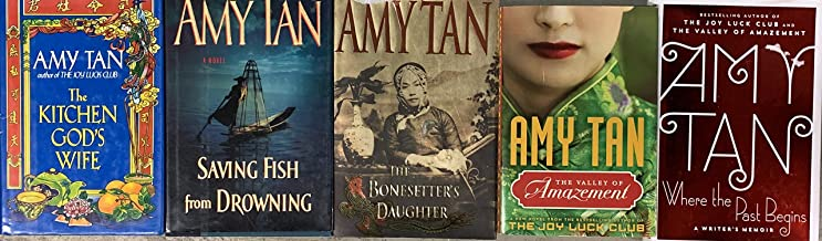 Amy Tan Novel Collection 5 Book Set