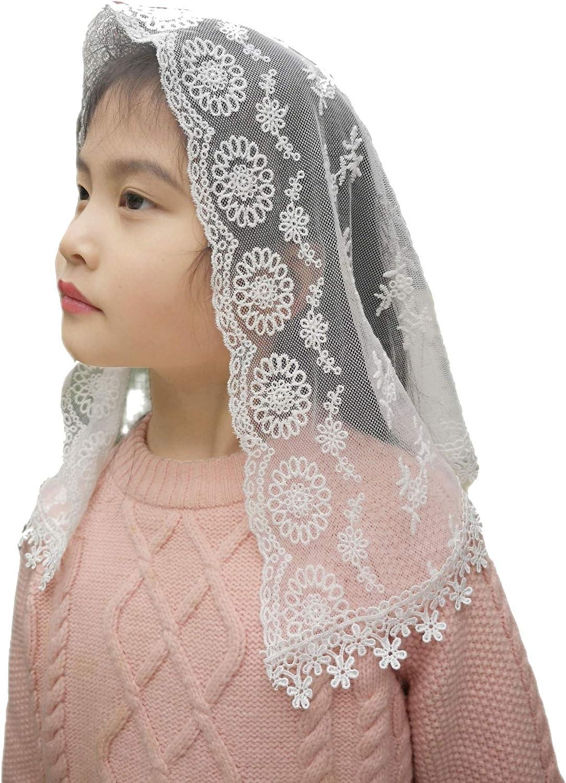 Kids Headcovering Girls Headpiece First Communion Veils for Girls