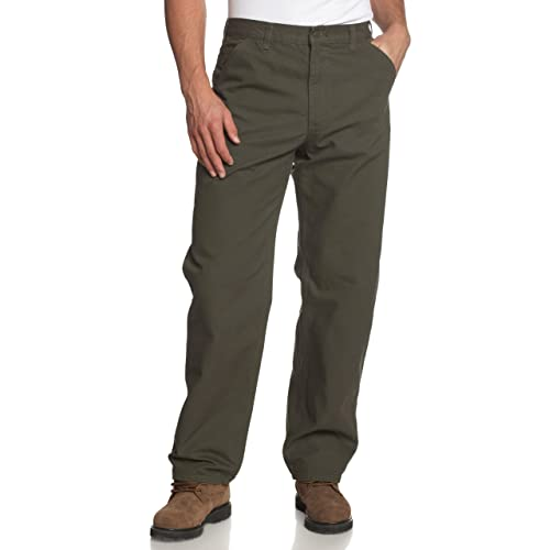 7000225537 Carhartt Men's Washed Duck Work Dungaree Pant