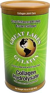Great Lakes Gelatin - Collagen Hydrolysate Kosher - Unflavored Protein - 16 oz