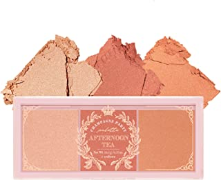 I'll I MEME I'll Af Afghan Tea Blusher Palette | Blush Trio Palette برای همه رنگ پوست | طعم میوه | K-Beauty