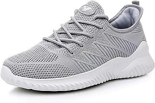 Impdoo Men's Memory Foam Slip On Walking Sneakers Comfortable Sports Athletic Tennis Running Shoes(US7-12 B(M)