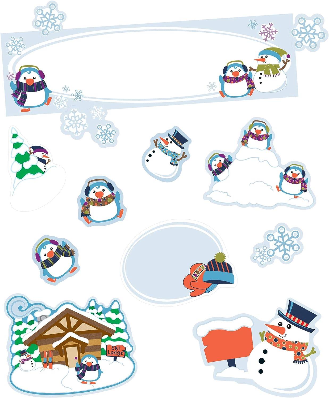 Carson Dellosa Winter Wonderland Mini Setâ Decor New life Board Bulletin High quality new