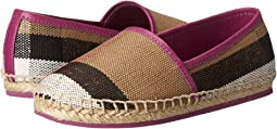 Burberry Kids - Espadrille with Check (Toddler)