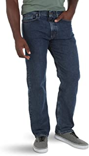 Authentics Men's Relaxed Fit Comfort Flex Waist Jean