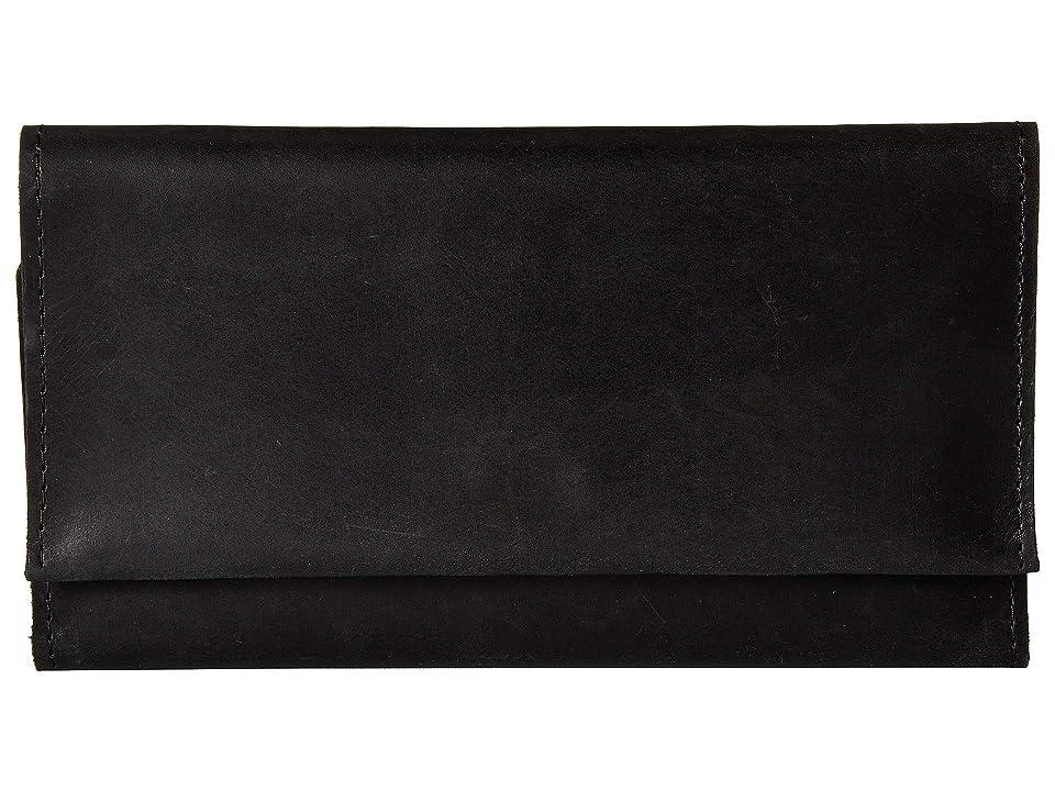 ABLE Debre Wallet (Black) Wallet Handbags