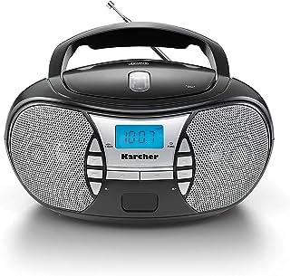 Karcher RR 5025-B Bärbar CD-radio Svart