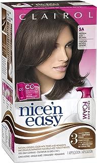 Clairol Nice 'N Easy Color Blend Foam Hair Color 5a Medium Ash Brown 1 Kit (packaging may vary)