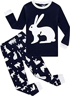 Children Pajamas Boys Pjs Cotton Toddler Kids Sleepwear Set