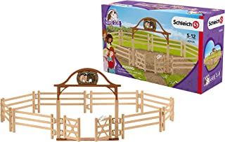 Schleich Paddock with Entry Gate Toy, Multicolor