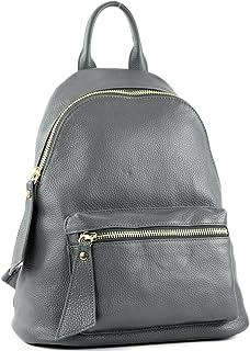 modamoda de T171A - ital Damen Rucksacktasche aus Leder