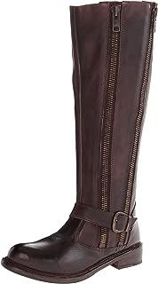 BED STU Women's Tango Boot, Teak, 6 M US
