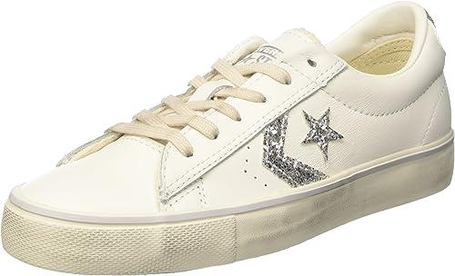 Converse PRO Leather Vulc Distressed Ox, Sneaker a Collo Basso ...