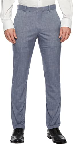 Slim Fit Stretch Crosshatch Dress Pant