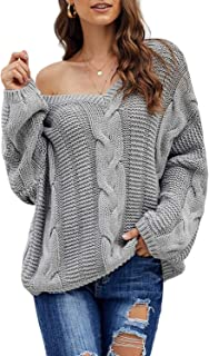 Best casual knit high neck loose sweater Reviews