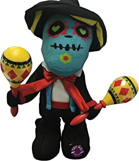 Day of the Dead Singing Sugar Skull Halloween Decoration Toys