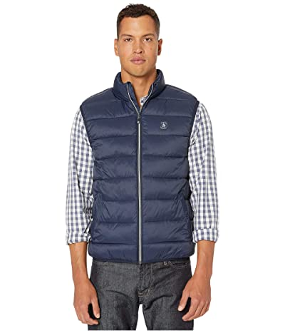 Original Penguin Lightweight Filled Vest (Dark Sapphire) Men