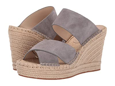 Kenneth Cole New York Olivia X Band (Grey Suede) Women
