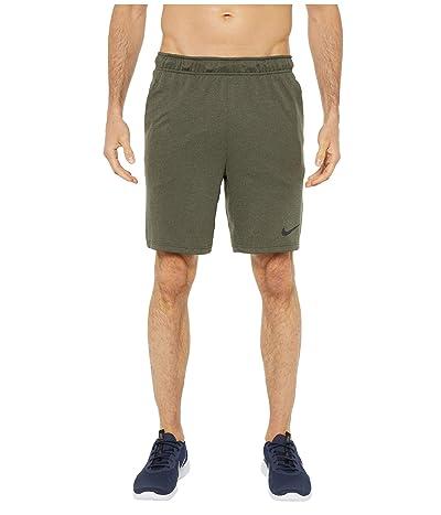 Nike Dry Shorts 5.0 Plus (Sequoia/Medium Olive/Heather/Black) Men