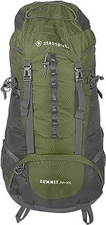 Stansport 70+10-Liter Internal Frame Backpack for Backpacking, Hiking and Travel