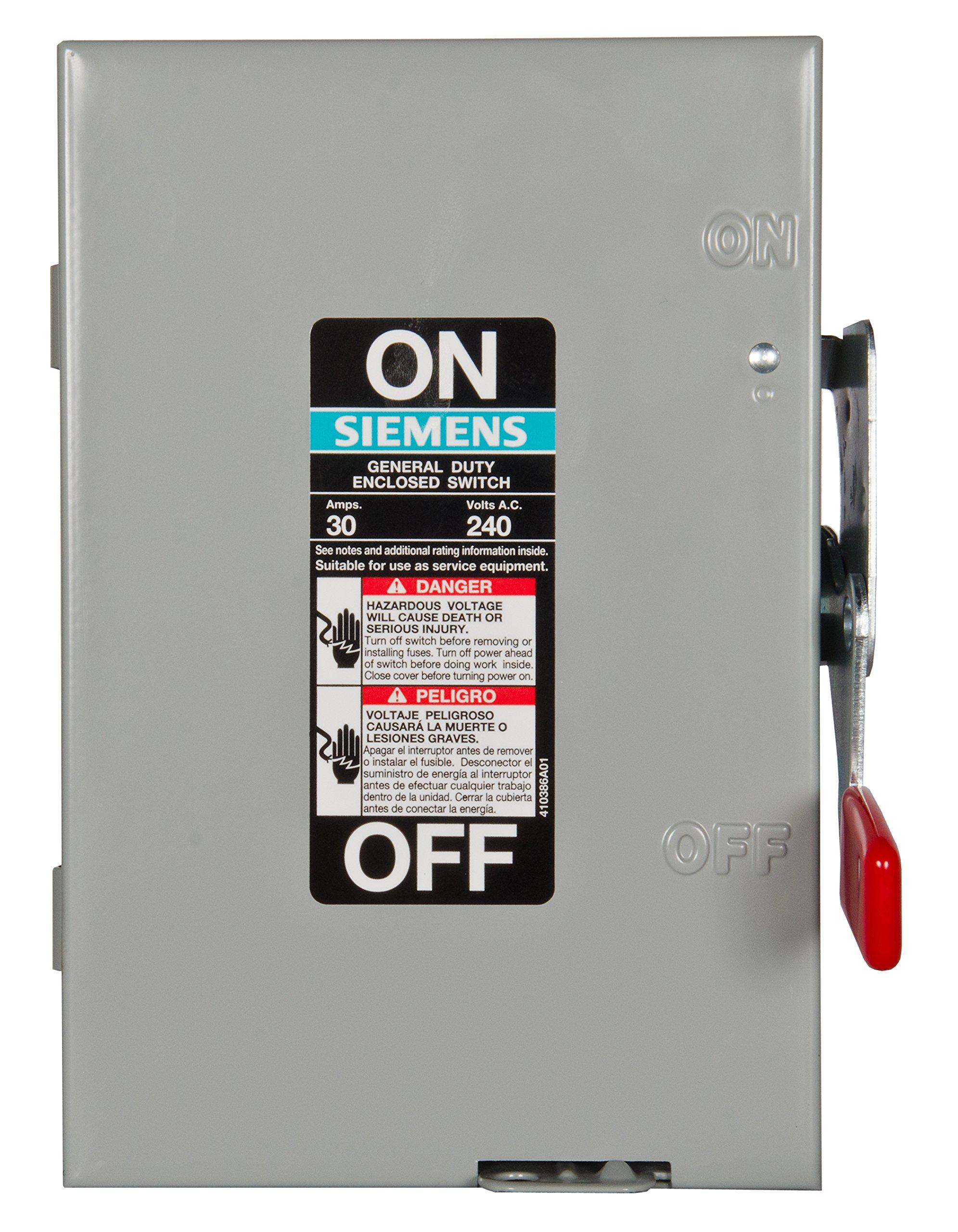 240 volt switch amazon com 100 Amp Fuse Box