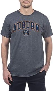 Elite Fan Shop Auburn Tigers Men's Short Sleeve Charcoal Gray Arch Tee, X-Large