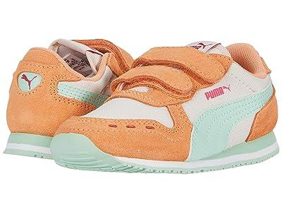 Puma Kids Cabana Racer NL V (Toddler) (Rosewater/Cantaloupe/Mist Green) Girls Shoes