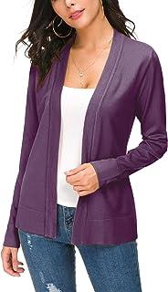 Purple Studded Lightweight Cardigan Sweater Purple Cardigan Petite Sz S Sweater Spring Sweater Trending Items Purple Sweater sz Small
