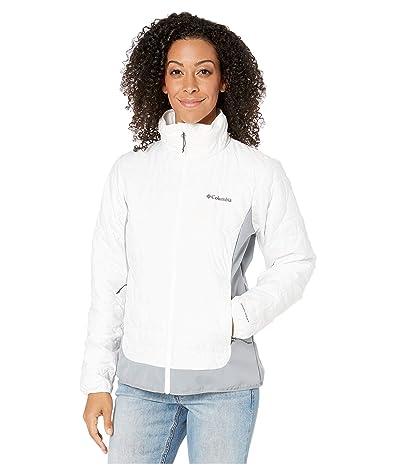 Columbia Seneca Basintm Hybrid Jacket (White/Tradewinds Grey) Women