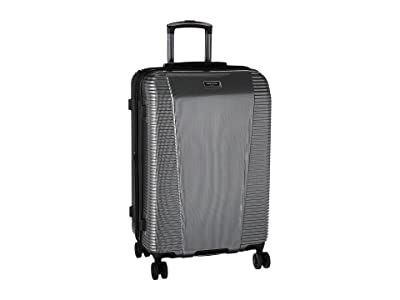 Kenneth Cole Reaction Sudden Impact 2.0 24 Expandable 8-Wheel Upright (Silver/Black) Luggage