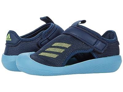 adidas Kids Altaventure CT (Infant/Toddler) (Crew Navy/Solar Yellow/Hazy Blue) Kid