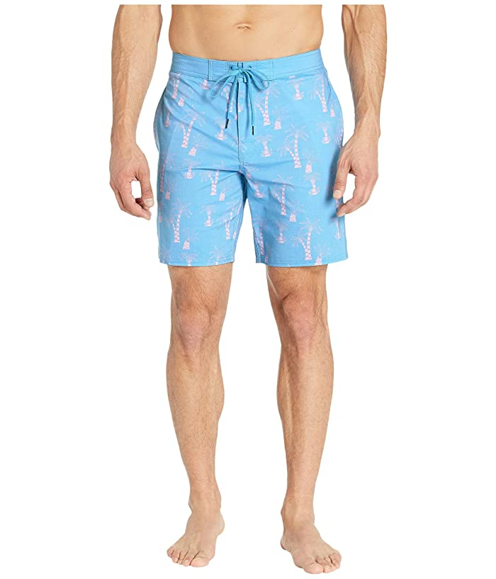 RVCA KLW Palms Trunks (Blue) Men