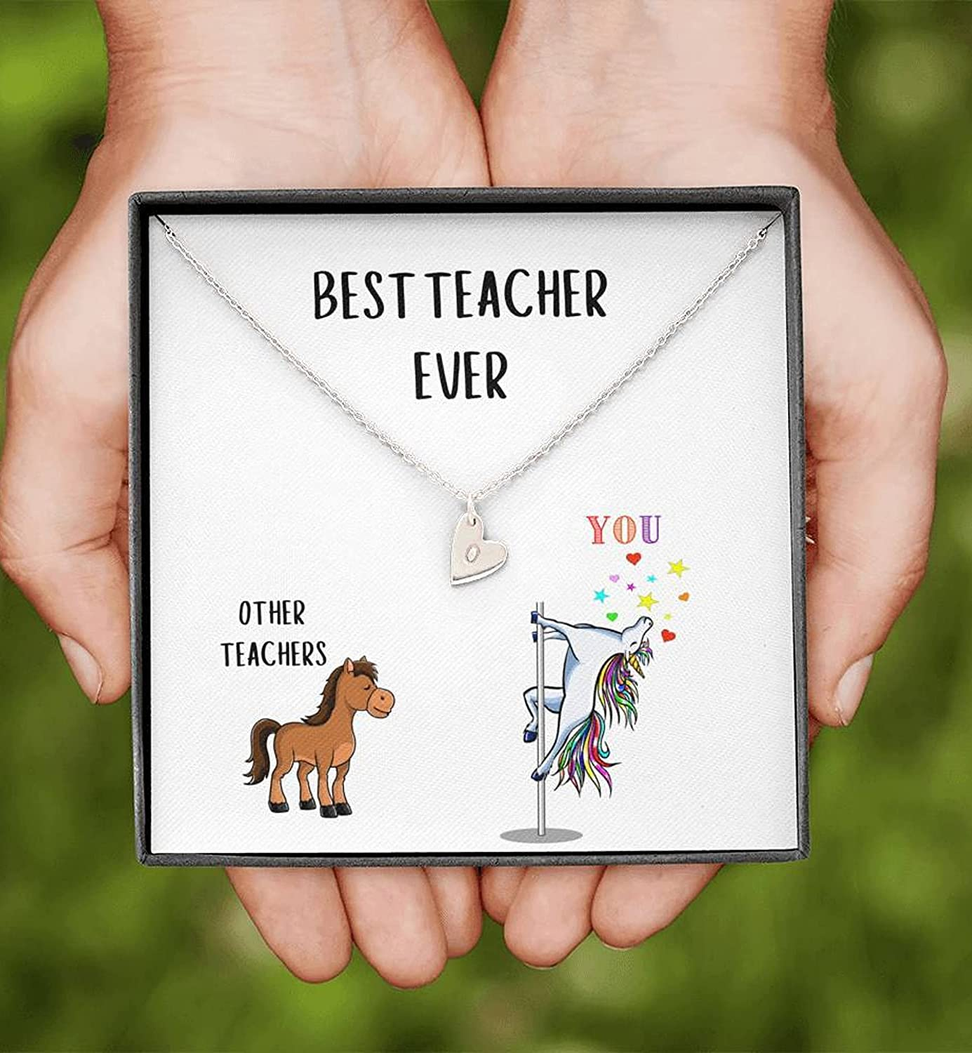 Teacher Gift 25% OFF Best Ever Necklace for High material Pers